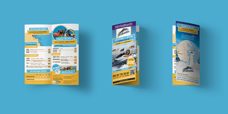Jet Aventure - Identité visuelle - Agence de communication digitale à Perpignan B-now